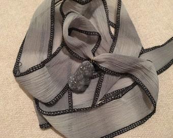 Granite Natural Stone Wrap Bracelet
