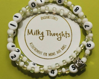 Breastfeeding Bracelet, Nursing Bracelet, Feeding Reminder