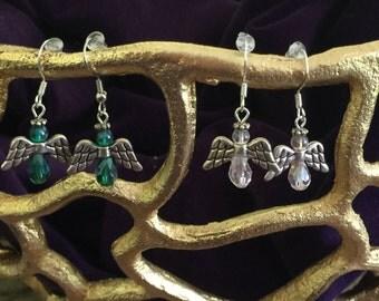 Angel Earrings (2 pairs)