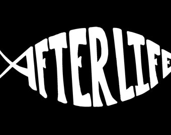 AfterLife Window Decal - Large