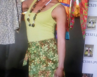 Diki Batik Wrap Skirt