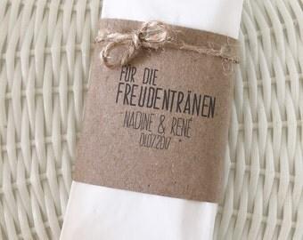 Vintage happy tears handkerchiefs
