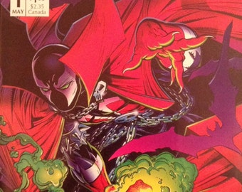 Spawn# 1 First Apperance of Spawn  N/M 9.8  Todd McFarlane