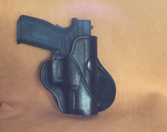 Gun Holster Springfield XD40 Paddle Leather