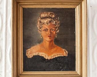 Portrait of Martha Washington Snow