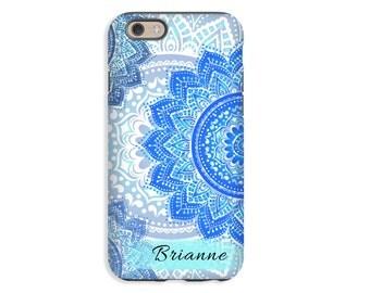 Mandala iPhone 8 case, iPhone 8 Plus case, iPhone 7 Plus case, iPhone 7 case, girls iPhone case, iPhone 6s Plus case/6s case, 3D iPhone case