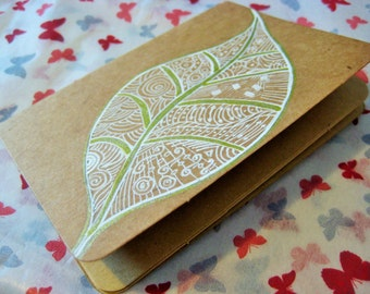 Miniature hand decorated journal