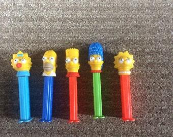 Simpson pez set