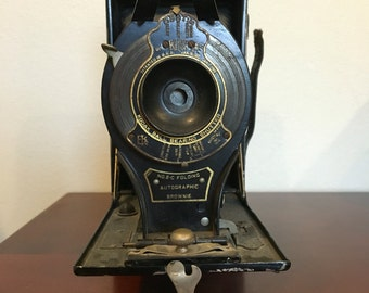 WORKING Vintage Eastman Kodak Folding Camera