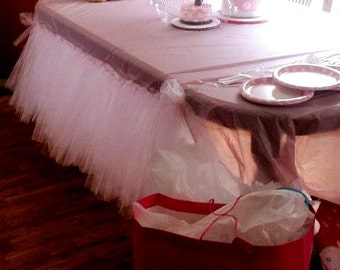 Customize your own Table tutu.