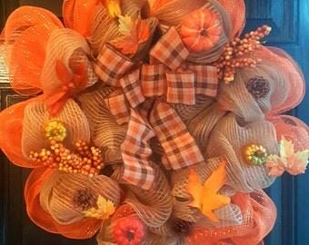 Fall Vibrant Wreath