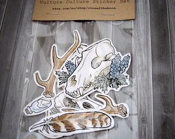 Vulture Culture Sticker Set