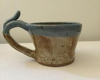 Whimsical Stoneware Mug