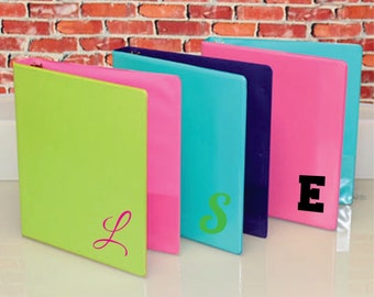 Single initial for binders!!