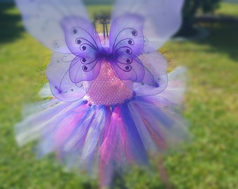 Tutu dress with wings