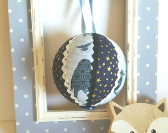 Large Birds in the Night Bauble