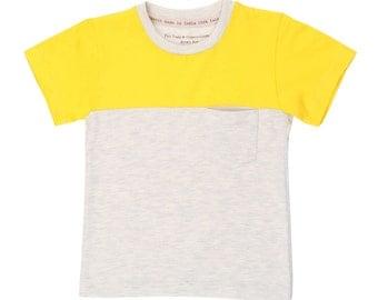 Summer T Shirt for Boys Organic Cotton T Shirt Designer Kidswear Ethical Gifts
