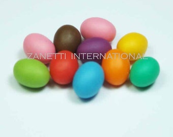 Set of 10 Dollhouse Miniature Easter Eggs - Mini Food