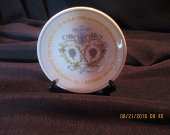 Prince Charles and Lady Diana Spencer Wedding plate