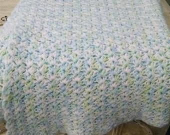 Hand Crochet Baby Afghan