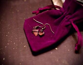 Handcrafted Red Jasper Earrings