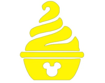 Dole Whip Decal Etsy