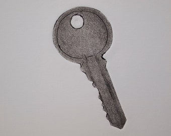Glove Box Key Print
