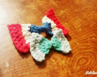 Multicolored bows. Comes in a variety of colors,  not just what is shown.