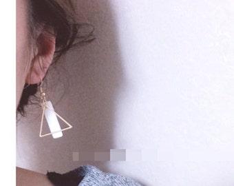 Geometric Fashion Drop Earrings