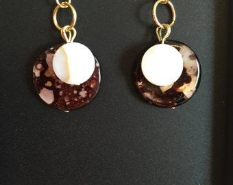 Dangle, drop earrings