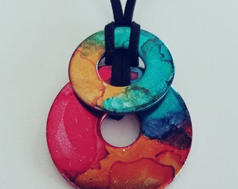 Flashy (dual pendant necklace)