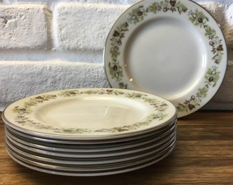 Royal Doulton Vanity Fair cake/side plate (8 available) weddings/shabby chic/retro/floral