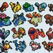 Gotta Sprite Them All! Original 151 Pokemon Perler Sprites!~