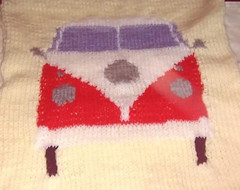 Volkswagen throw and cushion