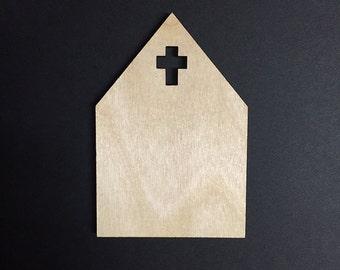 Cross Wood panel
