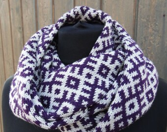 Knitted scarves