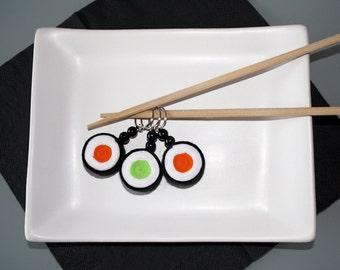 Maki Sushi felt keychains