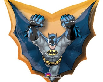 "Batman Birthday Balloon-28"" Large Balloon- Batman Party Decoration"