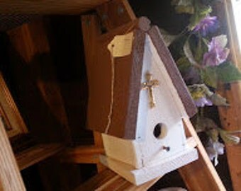 Church Birdhouse, Birds of Pray!