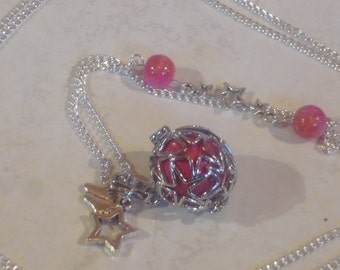 Pregnancy star and Pearl Pink Red