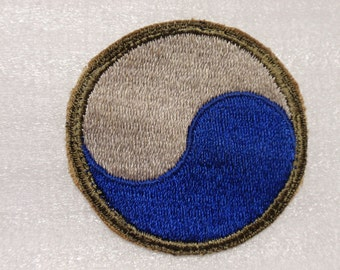 """U.S. 29th """"Blue and Gray"""" Infantry Division Insignia * usp547"""