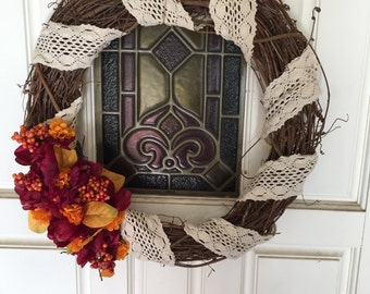 Bohemian Fall wreath