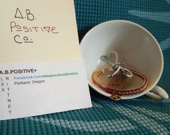 Eye of virtue charm bracelet
