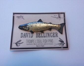 Salmon Fish Pin 229