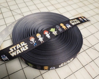 Cartoon Star Wars Ribbon