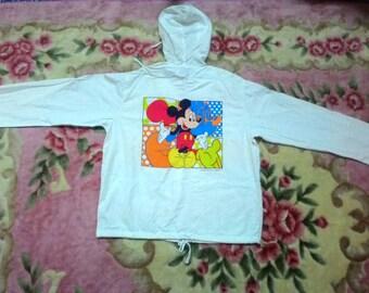 Mickey Mouse hoodie walt disney character windbreaker