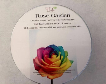 Rose Garden Dead Sea Salt Scrub