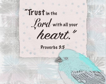 Trust in the Lord Digital Download Print