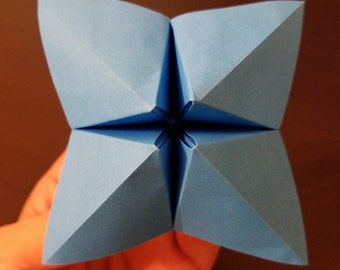Blue Fortune Teller