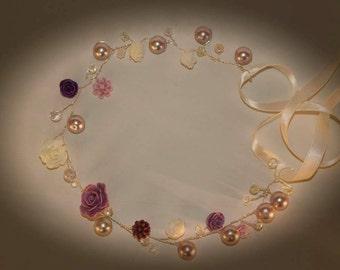 halo / hairpiece/ circlet /flower crown